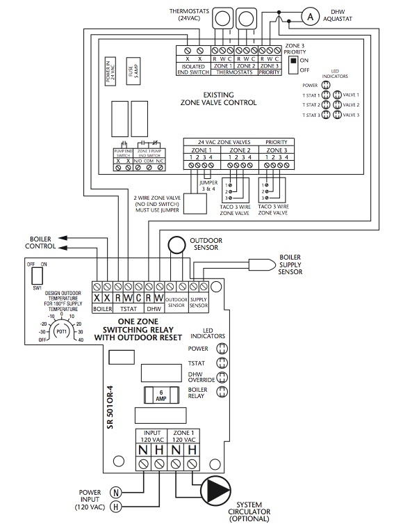 taco pump wiring diagram