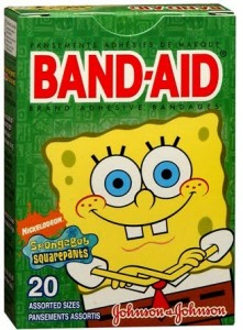 Spongebob Squarepants Band-Aid FREE at Wegmans With MFR Q